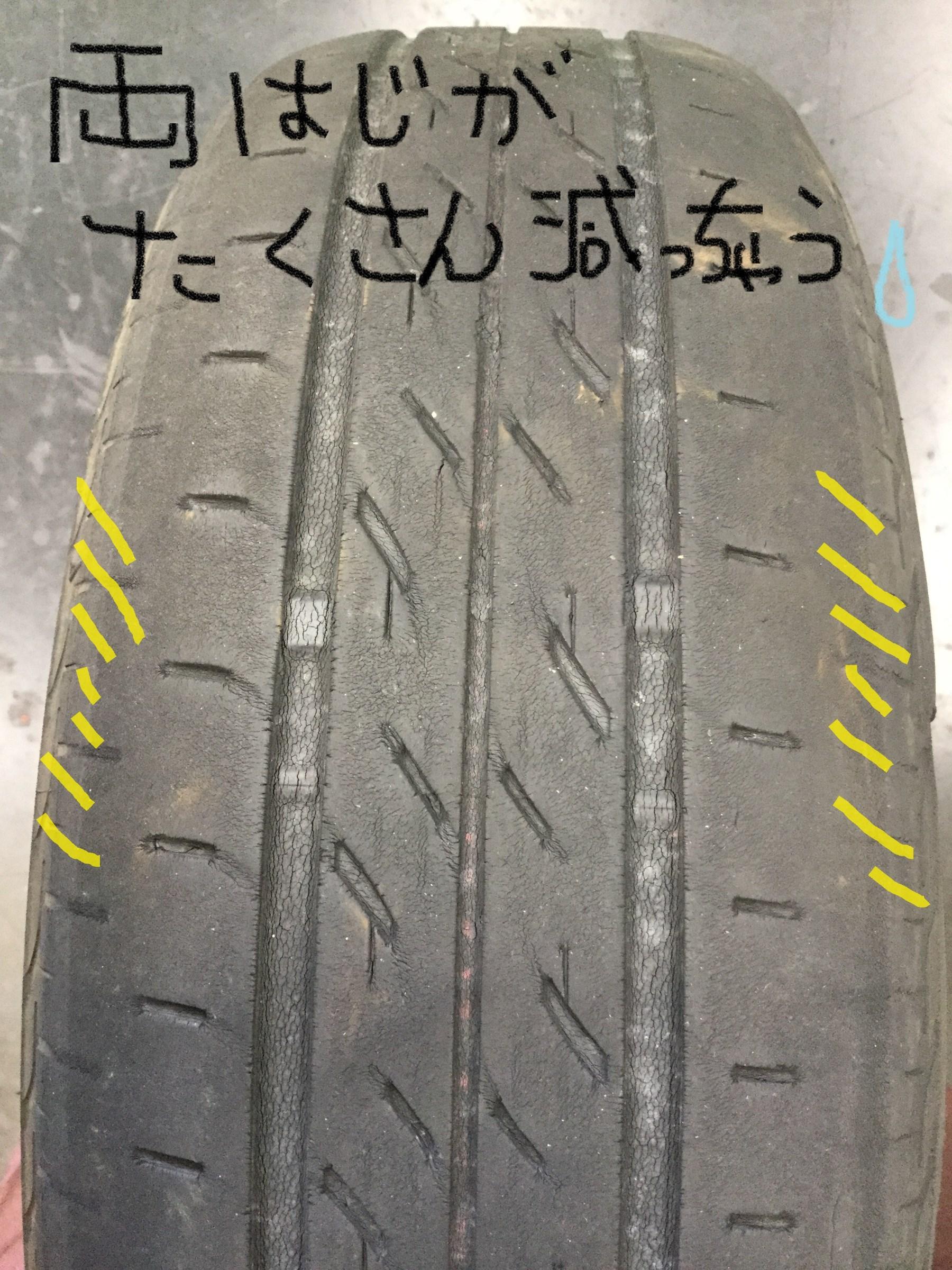 空気圧 頻度 タイヤ